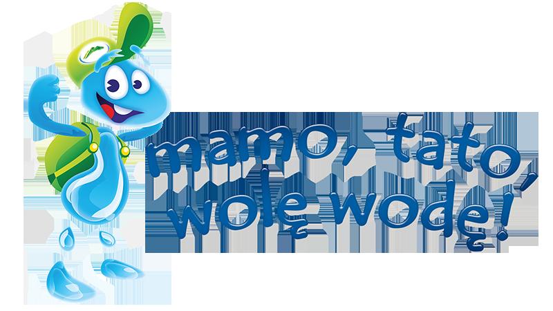 Znalezione obrazy dla zapytania mamo tato wolę wodę logo